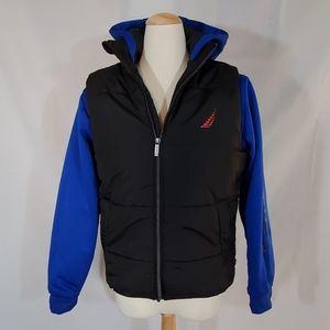Nautica boys puffer and hoodie combo jacket